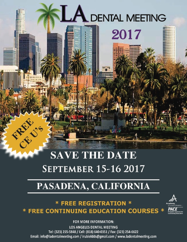 ladental meeting Los Angeles 2017
